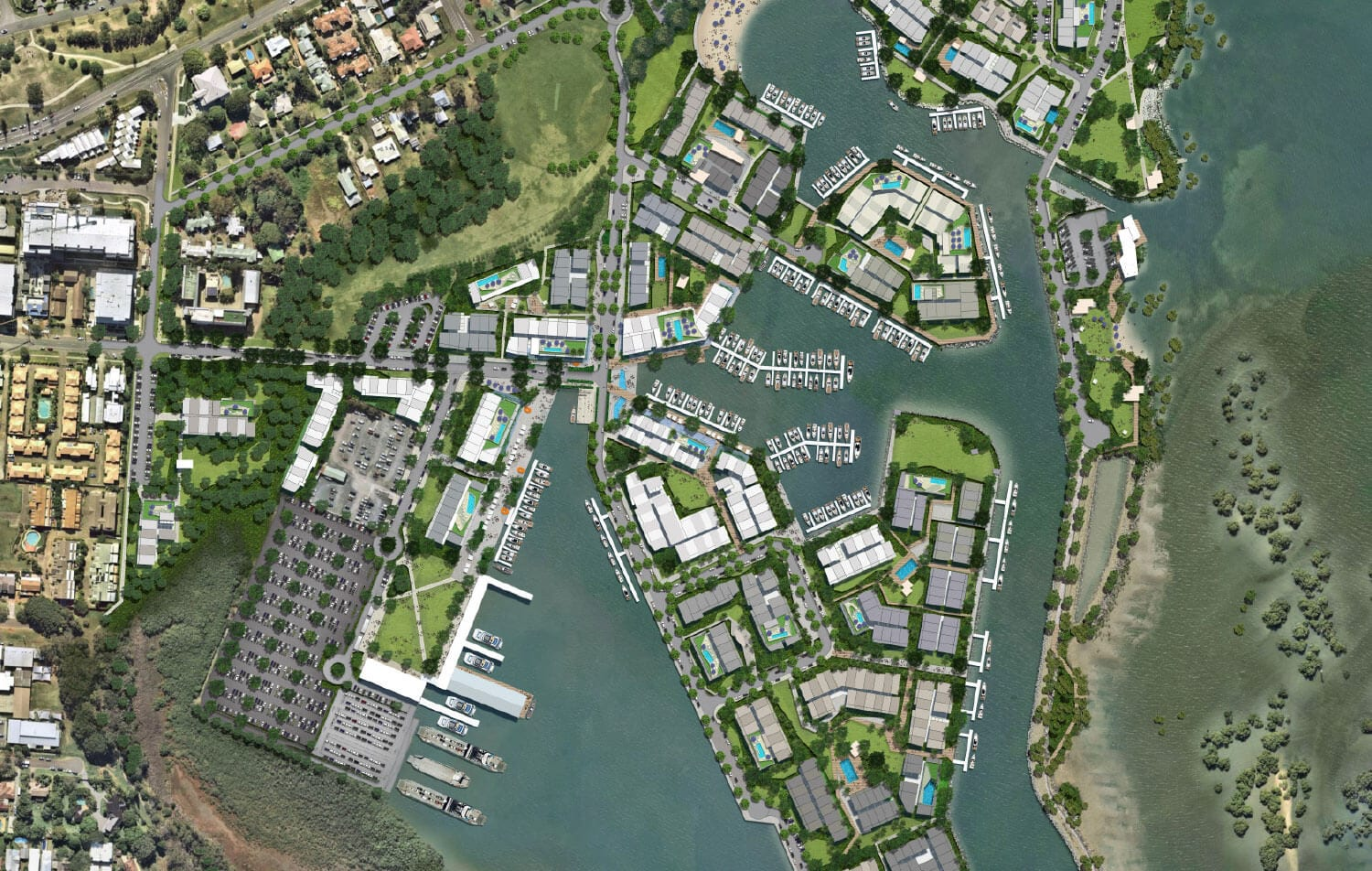 A preview of the Toondah Harbour masterplan