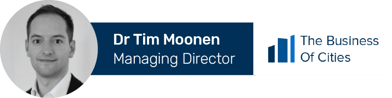 Dr Tim Moonen, Managing Director of The Business of Cities